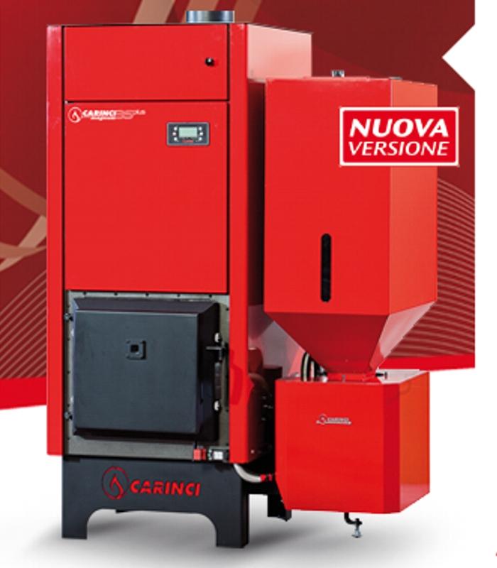 caldaia a biomasse automatica modello magnum carinci