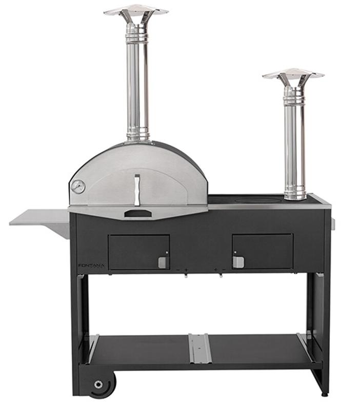 Forno a legna pizza cucina professionale per esterno - Cucina per esterno ...